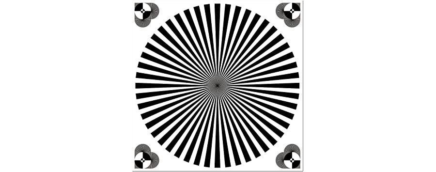 Lens Focus Chart